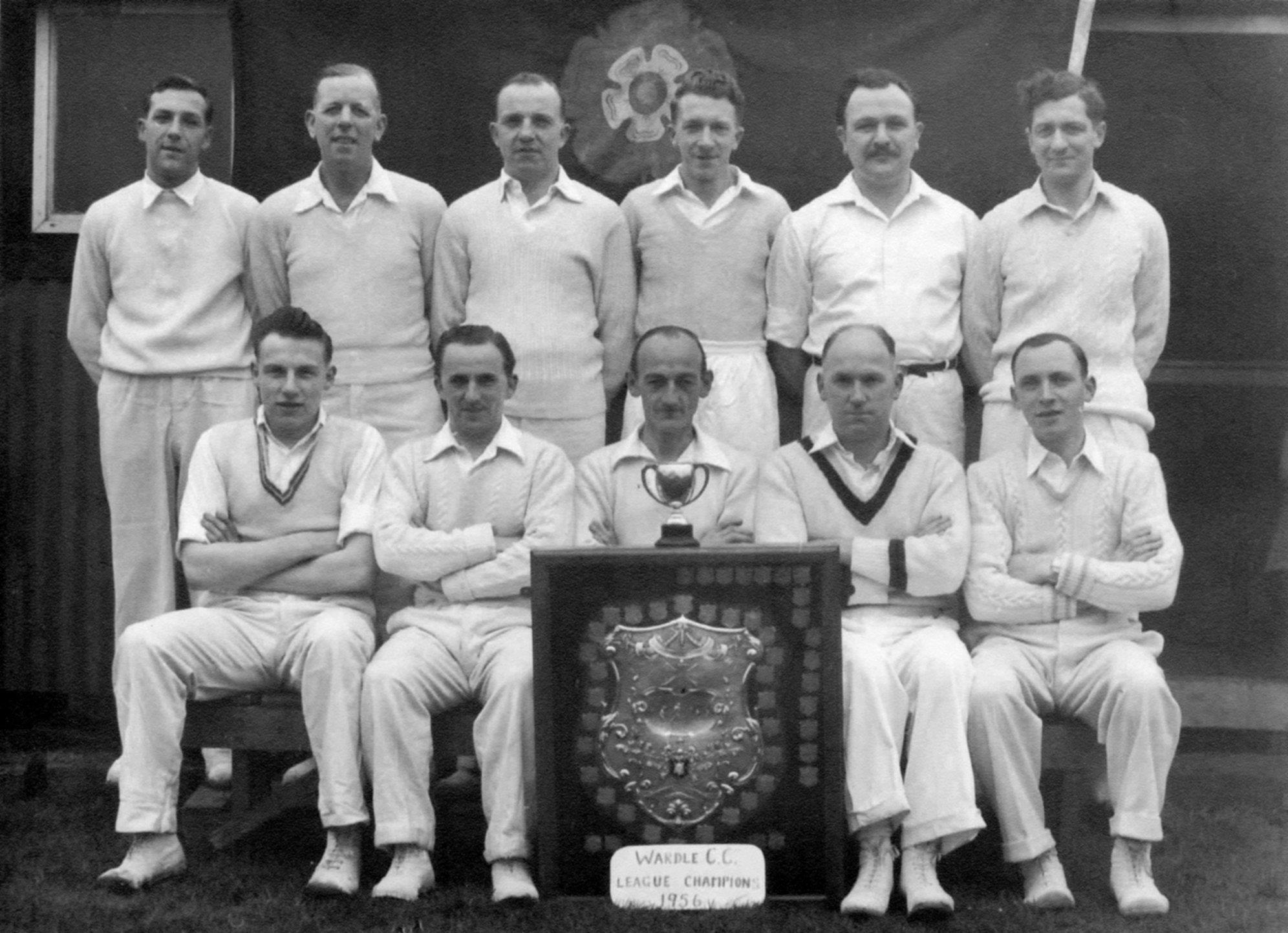 Wardle Cricket Club, 1955
