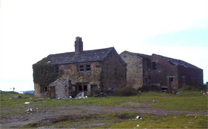 Low Farm (last occupied by the Crabtree family)