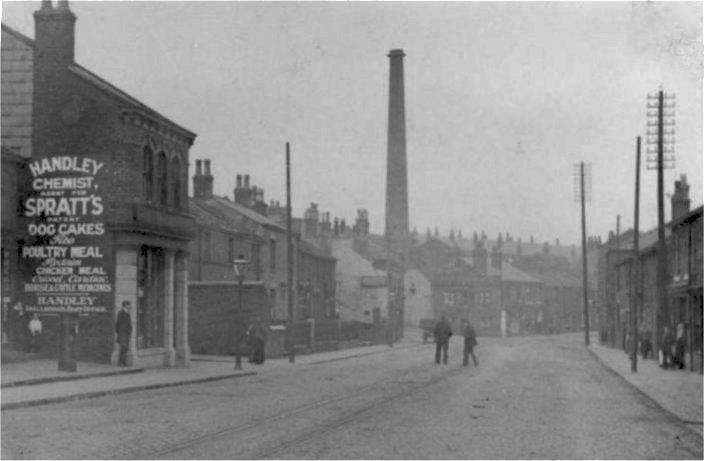 Halifax Road at Wardle Road