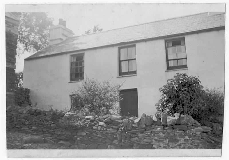 Unknown house (thought to be in Wardle)